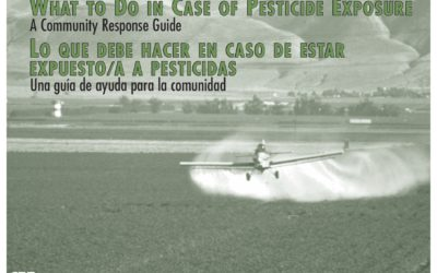 What to do in case of pesticide exposure: A community response guide
