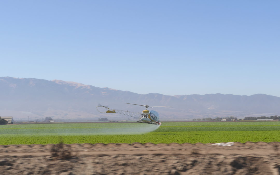 Pesticide use in California remains at record high, new data show
