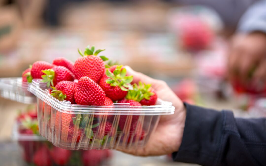 Pesticides on your food in California: An illegal helping once a week